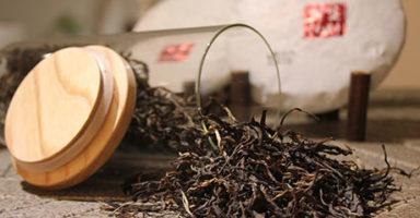 画像:プーアル茶(普洱茶)
